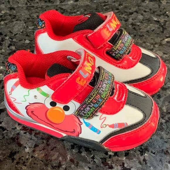 Sesame Street Elmo Light Up Sneakers